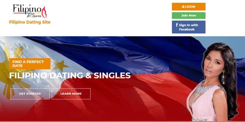 Filipino Kisses website