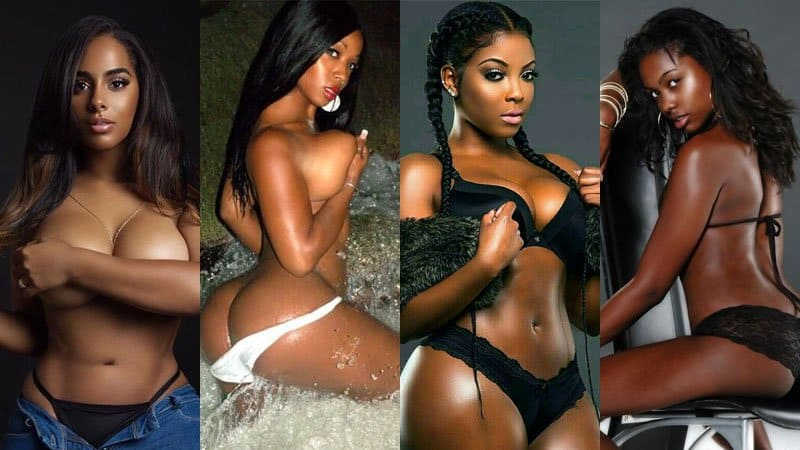 hot seductive black women