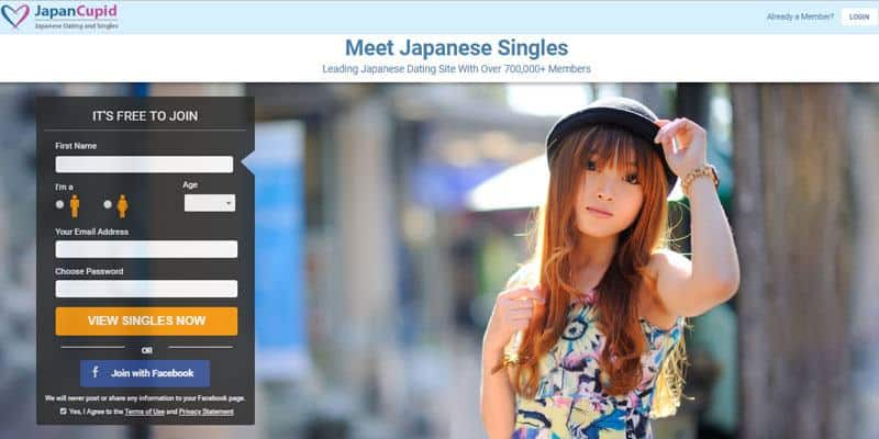 Japan Cupid website