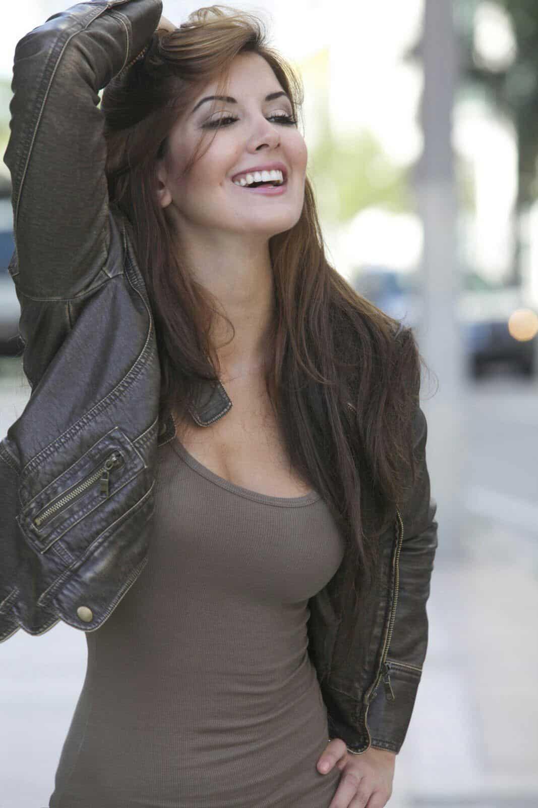 Priscila Perales sweet smile