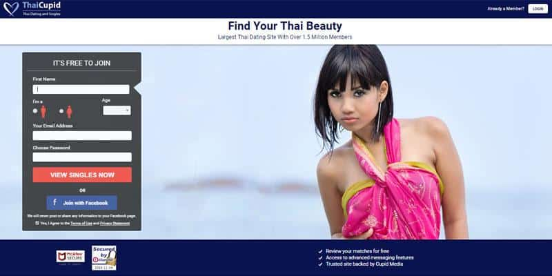 Thai Cupid website
