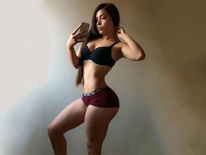 Tracy Saenz sexy curves