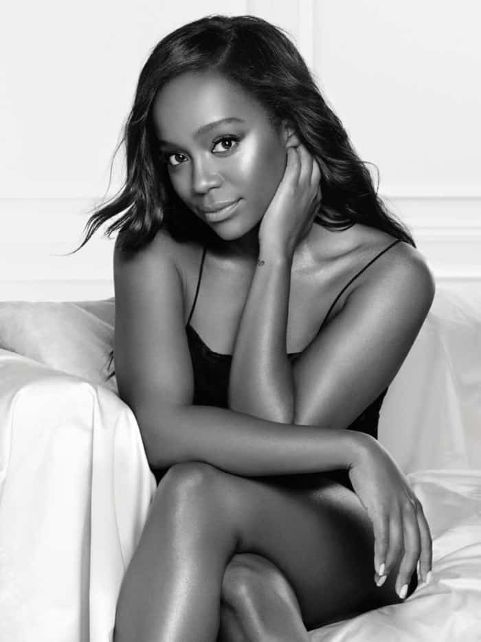 Aja Naomi King Loreal Paris photoshoot