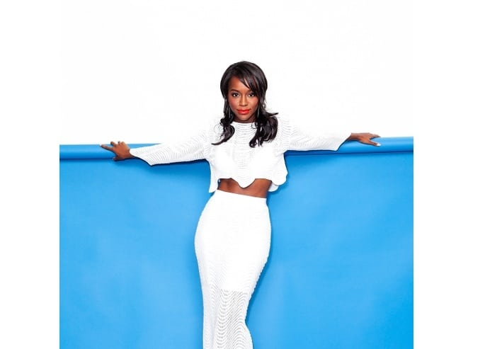 Aja Naomi King perfect shape body