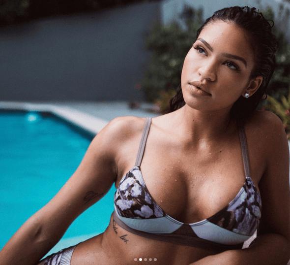 Cassie in bikini