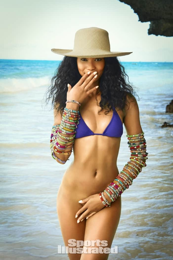 Chanel Iman Sports Illustrated