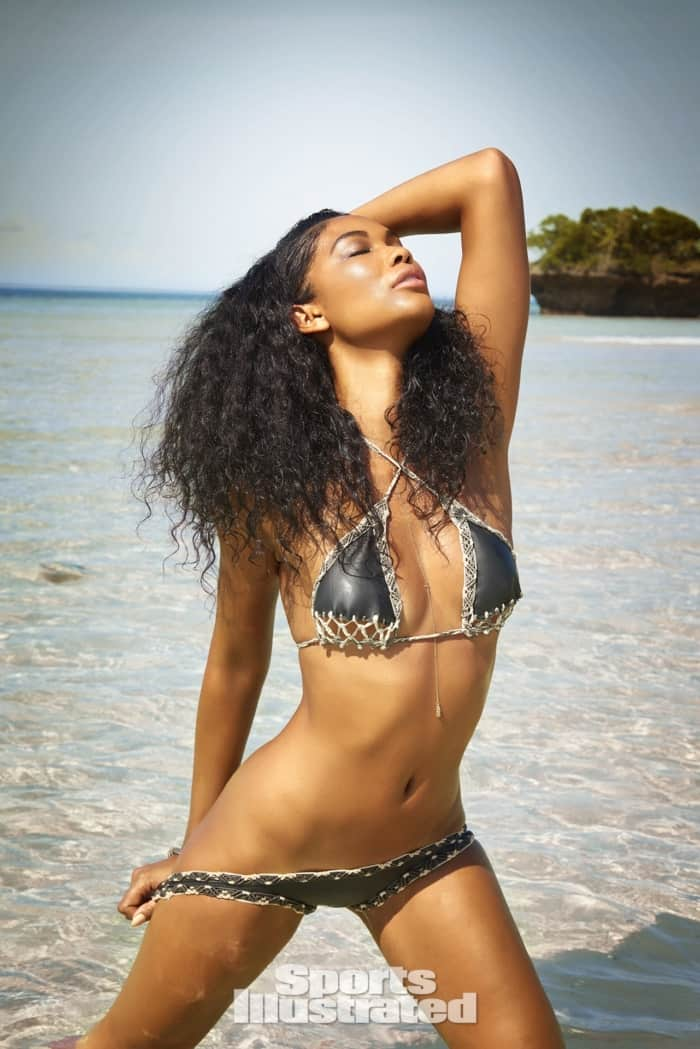 Chanel Iman Sports Illustrated photo shoot