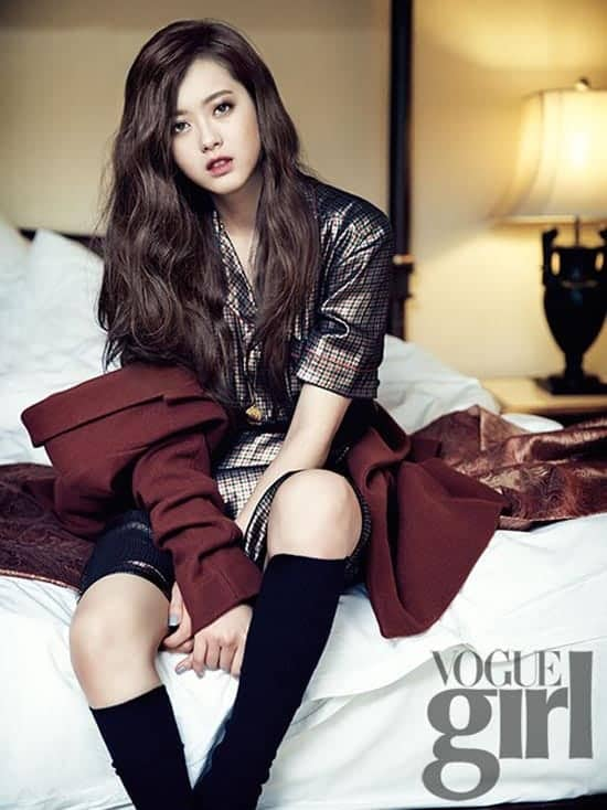 Go Ah Ra vogue girl