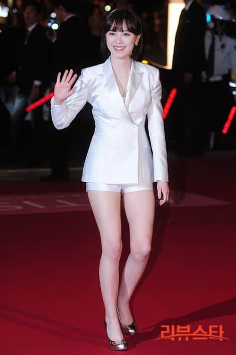 Goo Hye Sun at an event