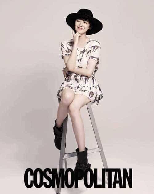 Goo Hye Sun Cosmopolitan photoshoot
