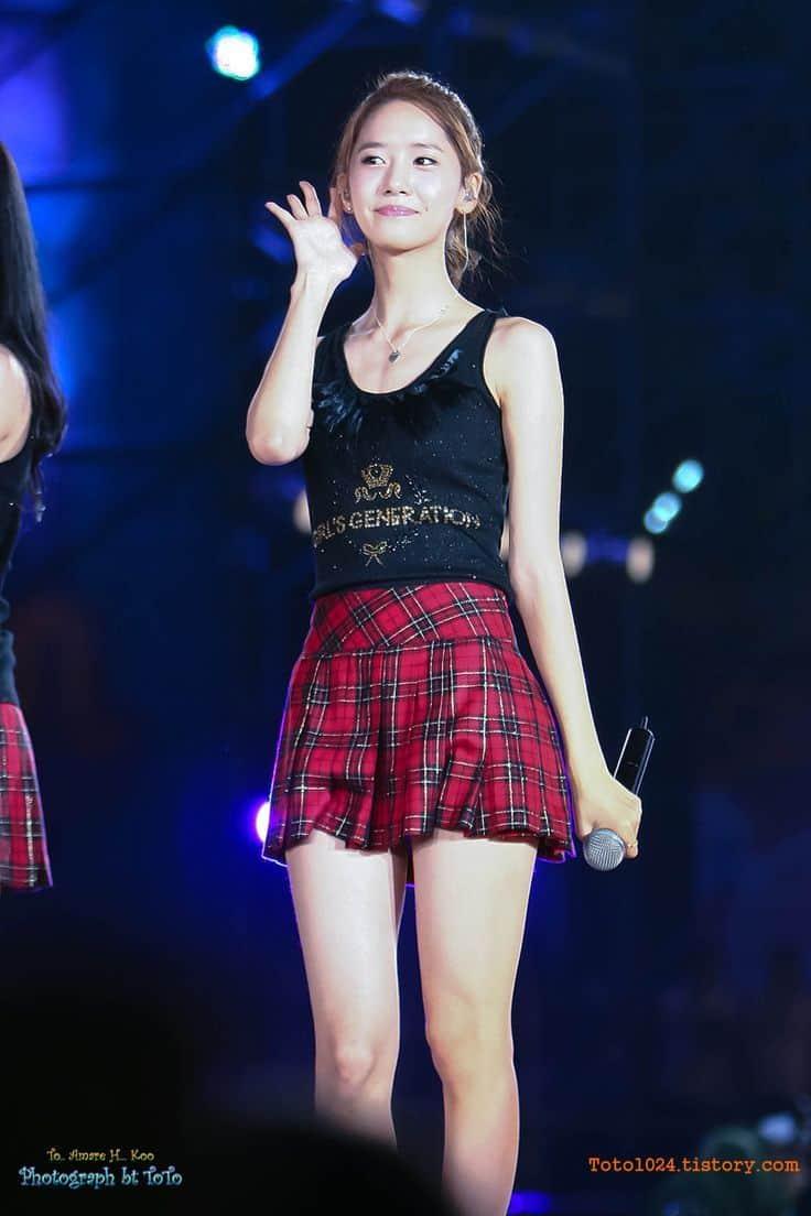 Im Yoona performing