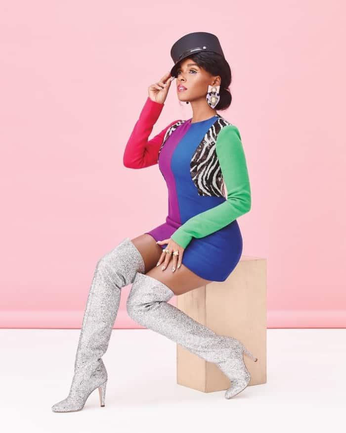Janelle Monae amazing look