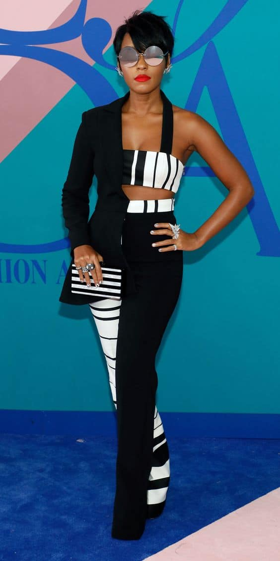 Janelle Monae sexy black singer actress