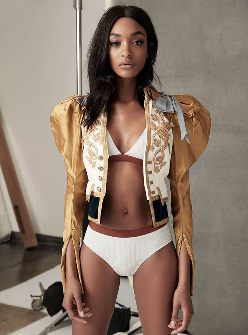 Jourdan Dunn  S Moda photoshoot