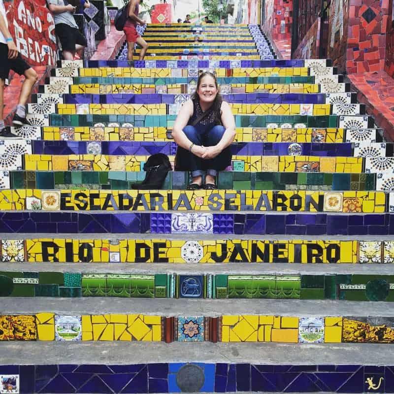 Julia Mezaros in Brazil