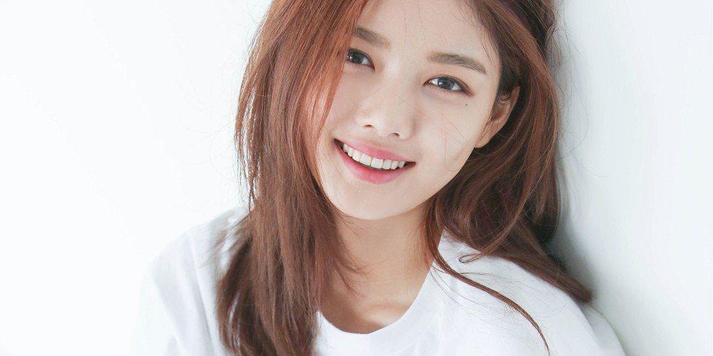 Kim Yoo Jung smiling