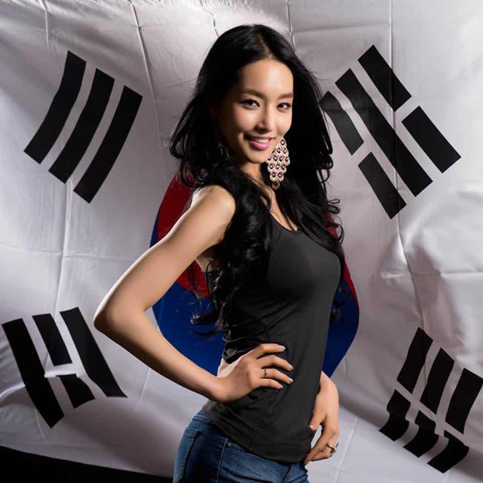 Kim Yu-Mi Miss Universe Korea