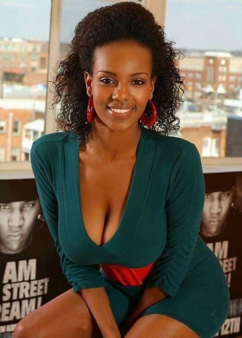 Liya Afa black Ethiopian beauty