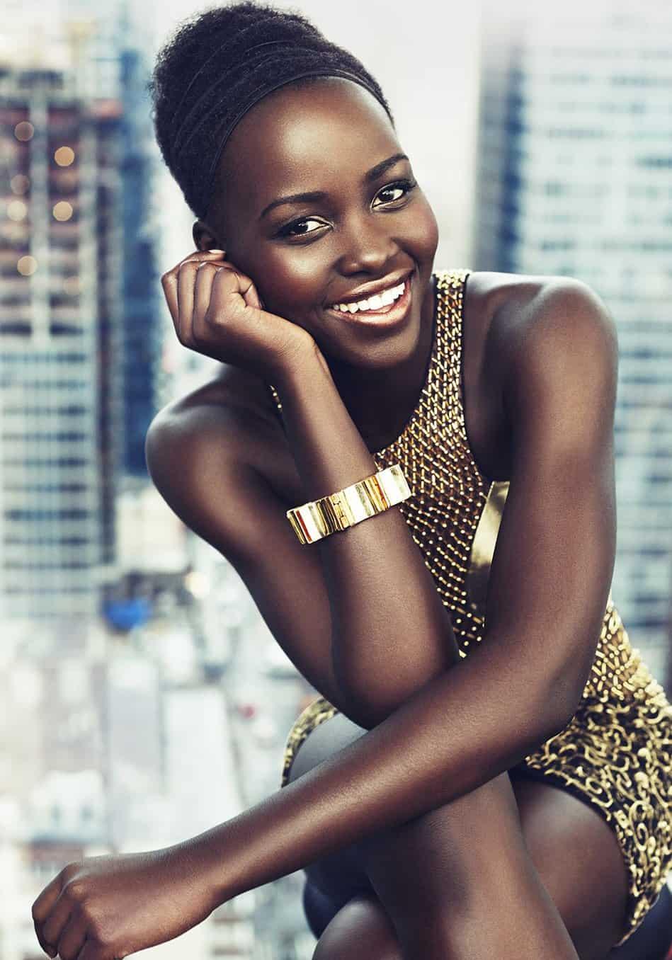 Lupita Nyong'o cute smile