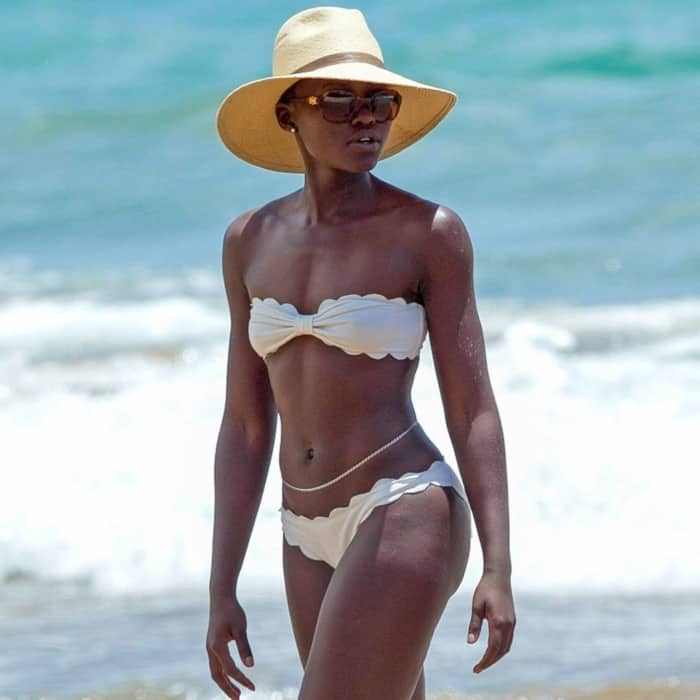 Lupita Nyong'o hot beach body