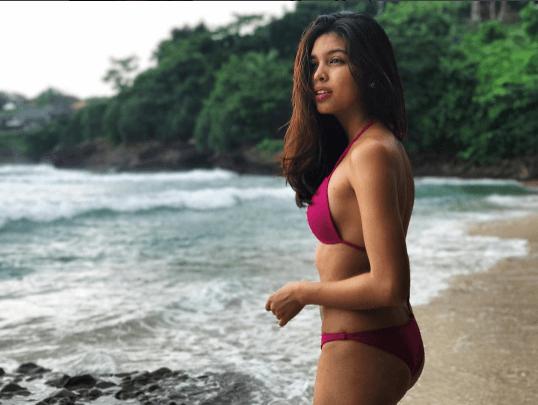 Maine Mendoza flaunts bikini body