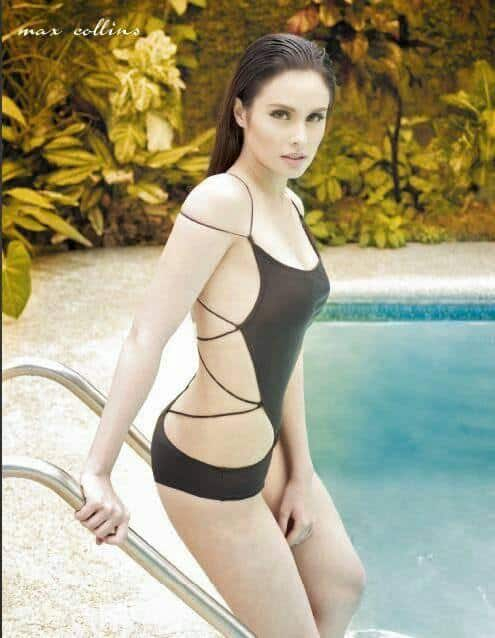 Max Collins sexy at the pool