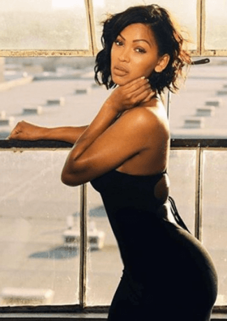 Meagan Good cool short hairstyle