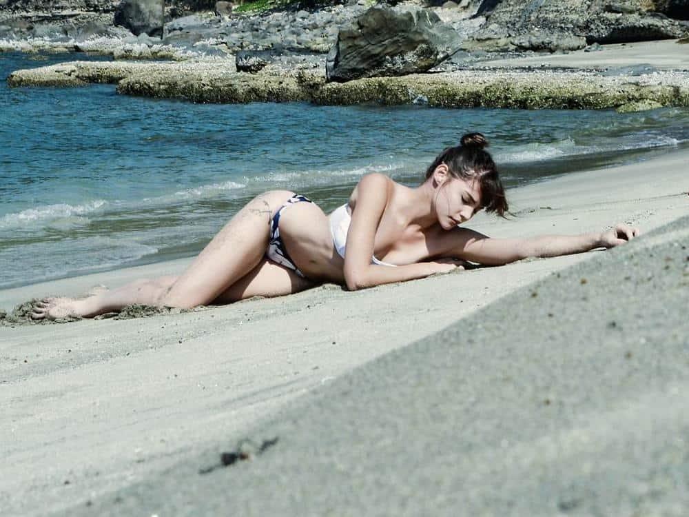 Rhian Ramos bikini photo at the beach
