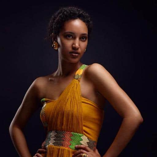 Sayat Demissie Ethiopian model