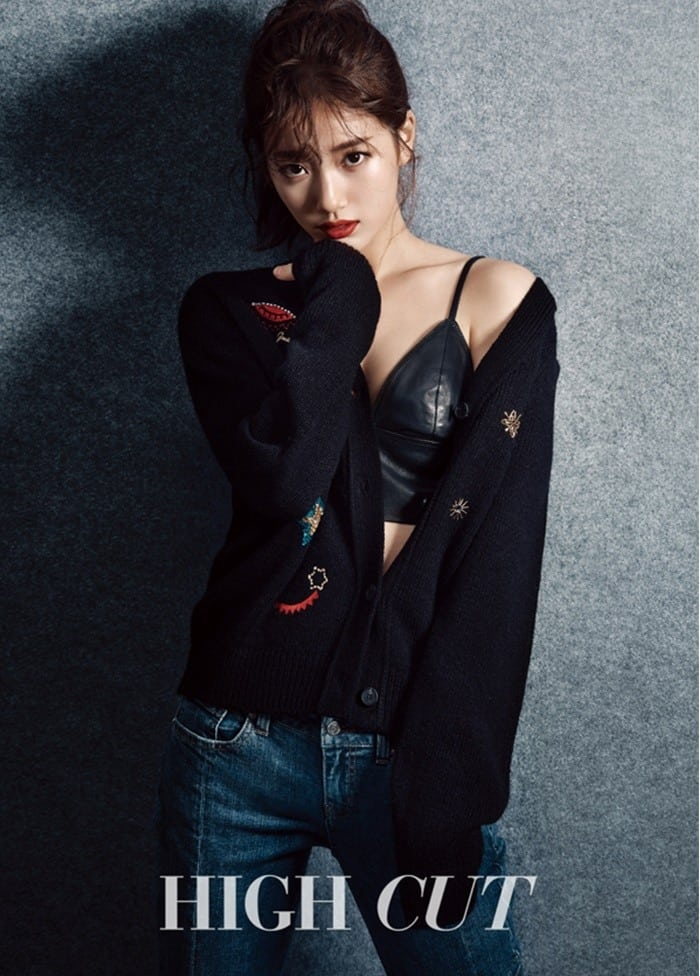 Suzy sexy outfit