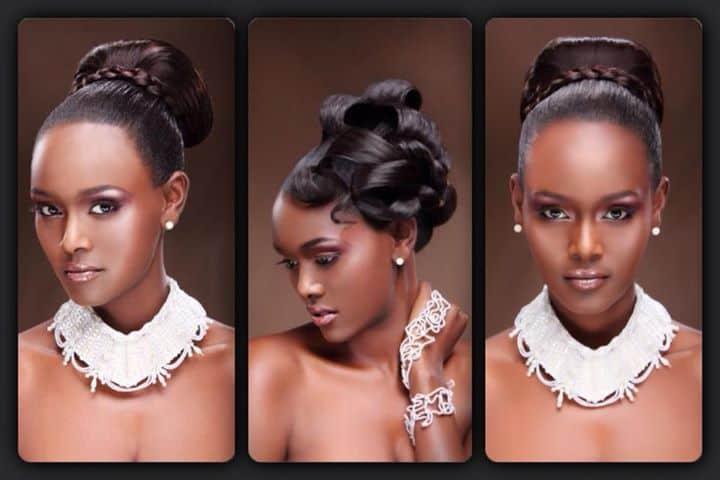 Tahounia Rubel Ethiopian model