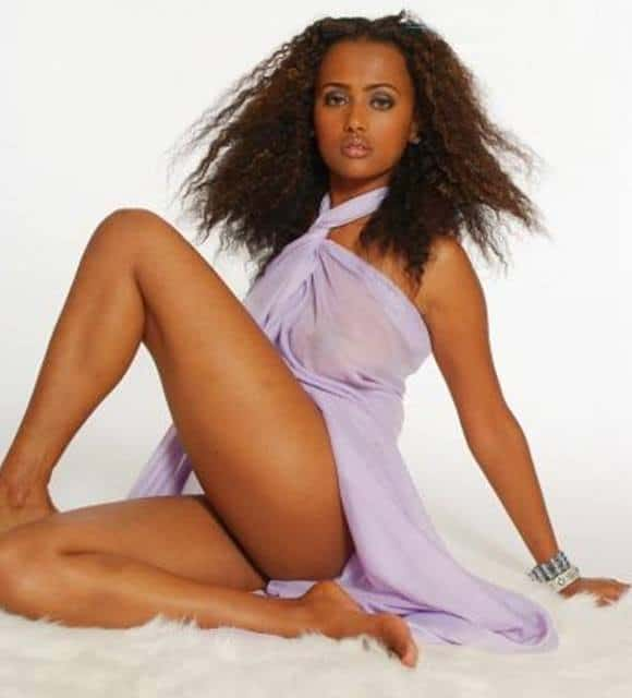 Tegest Mesfin Ethiopian beauty model