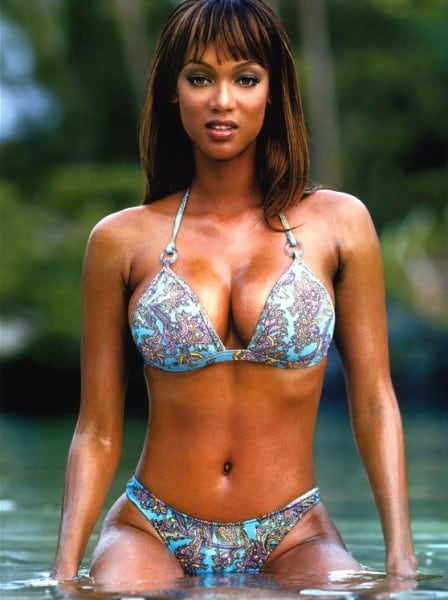 Tyra Banks sexy black woman