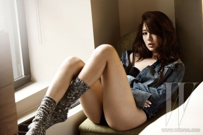 Yoon Eun-hye sexy and daring