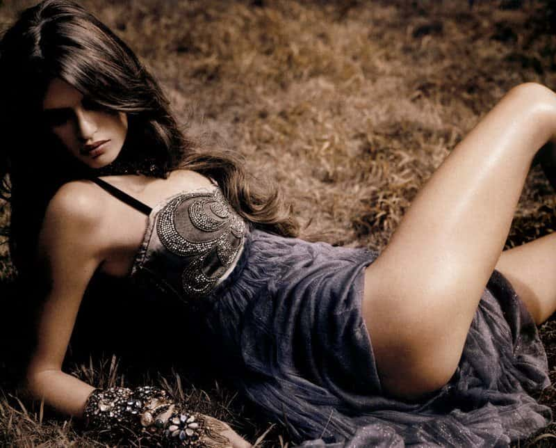 Bianca Balti Italian fashion model photo shoot