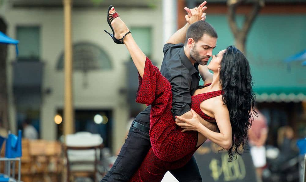 Buenos Aires Tango dancers