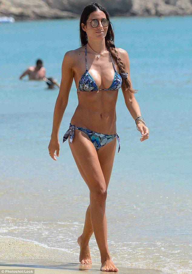 Elisabetta Gregoraci sexy Italian model