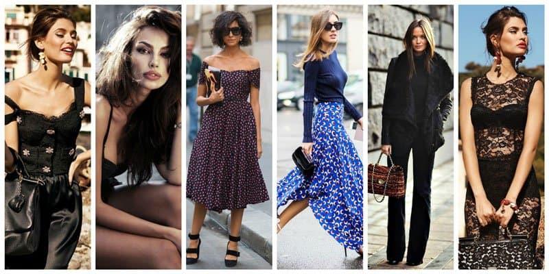Stylish Italian women