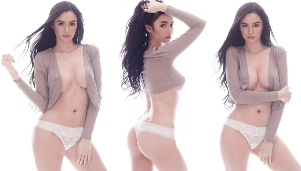 Kim Domingo flaunts sexy body