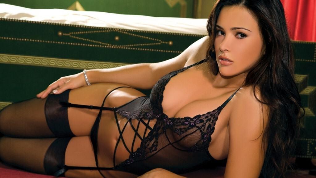Madalina Diana Ghenea sexy lingerie