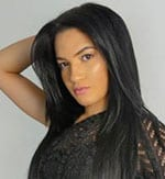 pretty Latin lady from Colombia