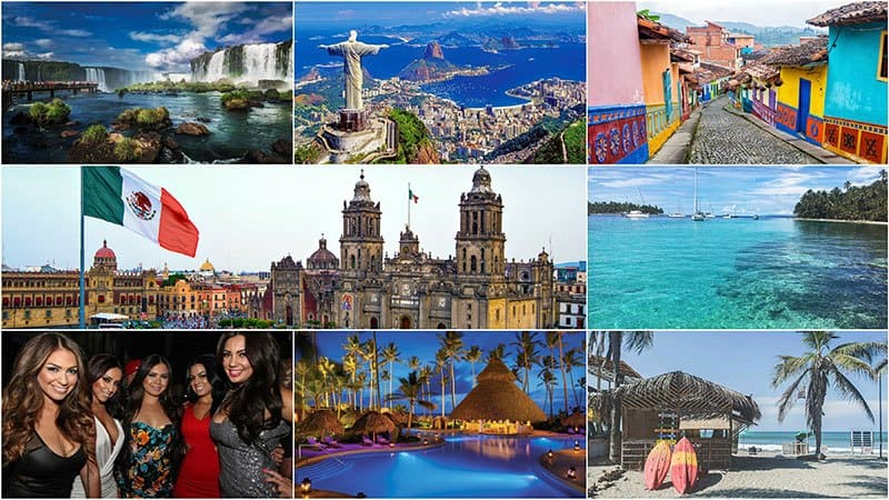 Best Latin countries to find a wife