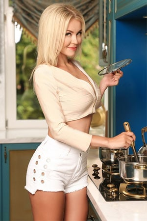 blonde Ukrainian woman your ideal wife
