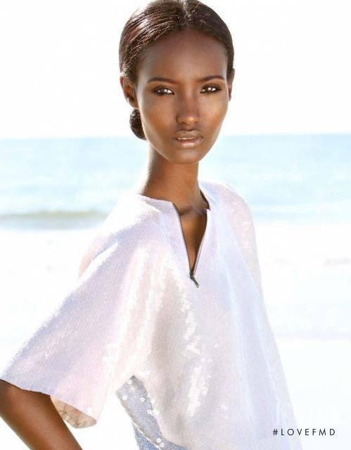 Fatima Siad slim African model