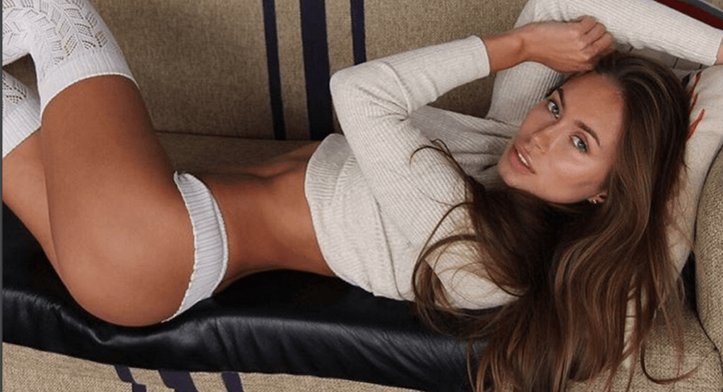 Galinka Mirgaeva hot on the couch
