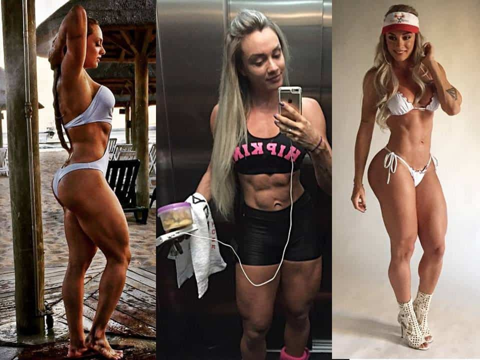 Juliana Salimeni Brazilian fitness model