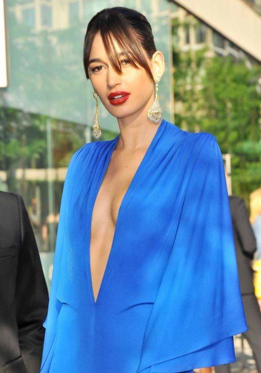 Kenza Fourati at the Tunisian fashion awards