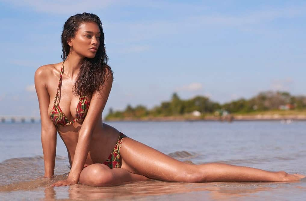 Lisa-Marie Jaftha pictorial at the beach