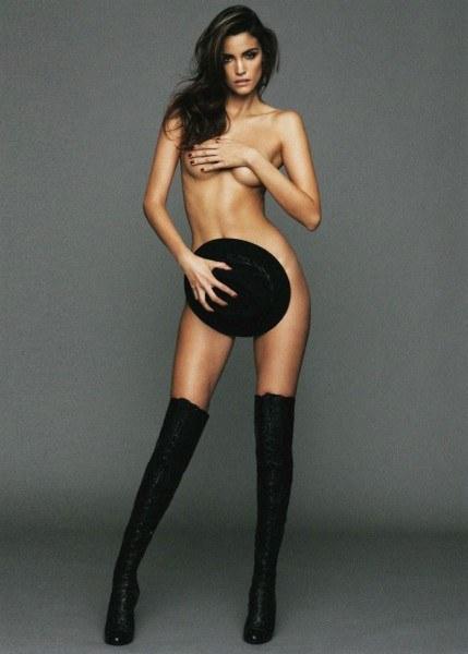 Sofia Resing Brazilian model almost naked