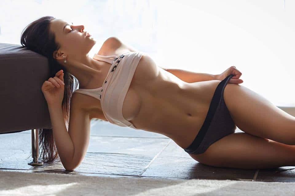 Angelina Petrova hot pose